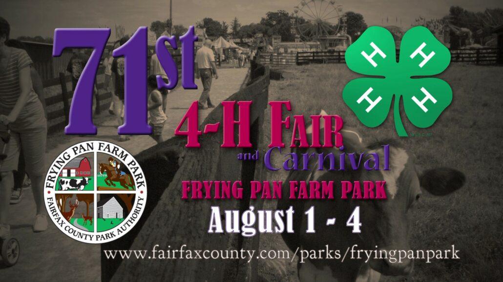 4 H Exhibit Judges Needed August 2nd Fairfax Master